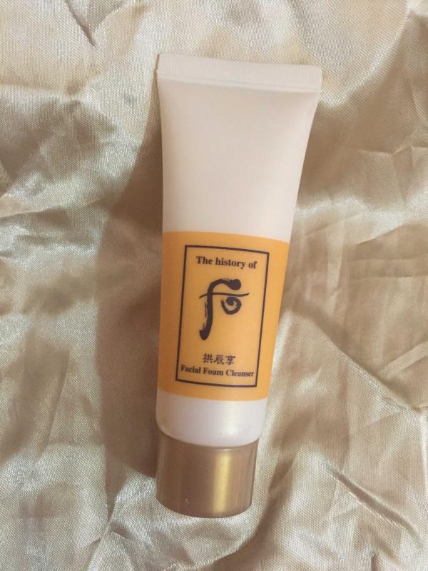 拱辰享 氣津清顏霜 潔面泡沫 40ml (Facial Foam Cleanser)
