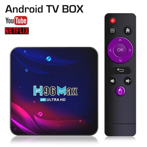 H96 MAX ANDROID TV BOX