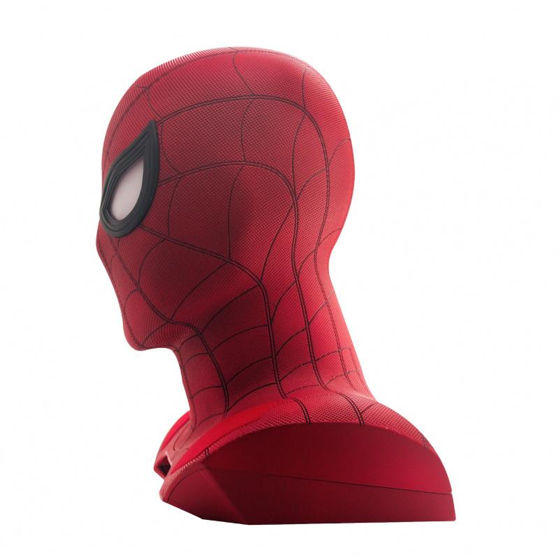 【預售產品】Marvel X CAMINO Spider-Man 蜘蛛人1:1真人頭像投影藍牙喇叭