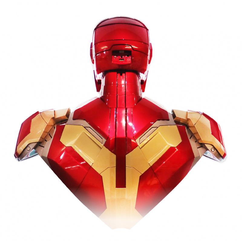 [預售產品]鋼鐵人Mark43 BUST半身胸像1:1藍牙喇叭