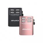 Awei 4 USB 旅行轉換插 C-36 [2色]