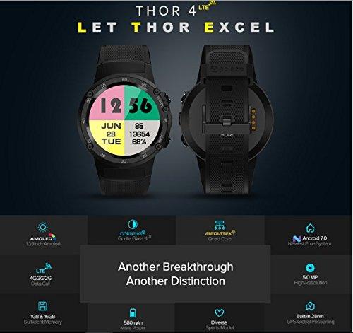 Zeblaze THOR 4 4G LTE GPS 智能手錶