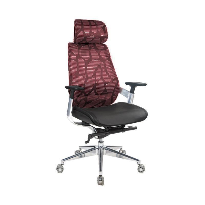 Suchprice BN03 人體工學鋁合金腳電腦椅 [紅色]