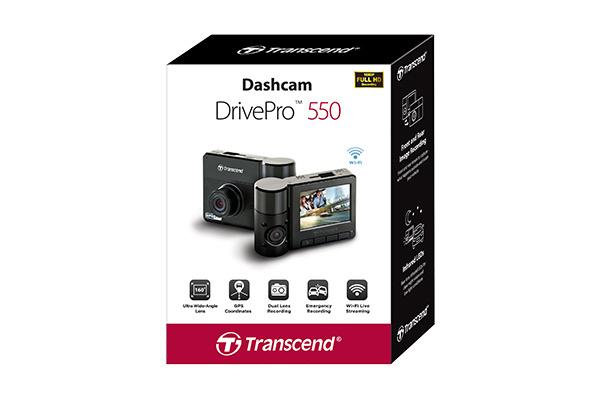 香港行貨 2018 最新 TRANSCEND 行車記錄器 DrivePro™ 550 台灣製造 香港銷委會推介品牌 少有雙鏡頭 2年保養