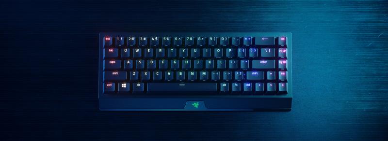 Razer BlackWidow V3 Mini HyperSpeed Wireless 65% Mechanical Gaming Keyboard with Razer Chroma RGB[電競鍵盤]