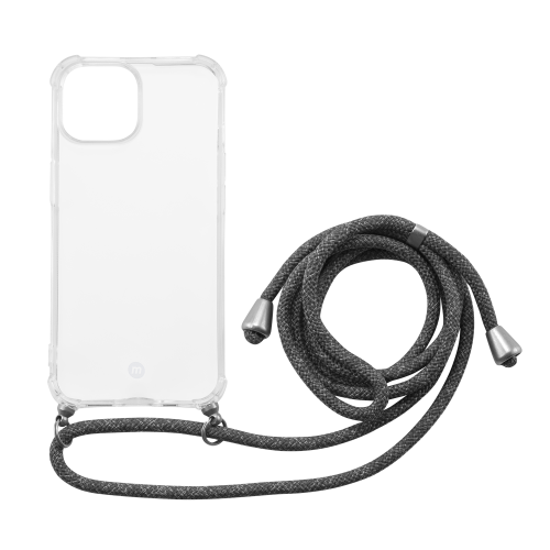 Momax iPhone 13 Crossbody TPU 可解降環保物料掛繩保護殼 [MLAP21] [2色]