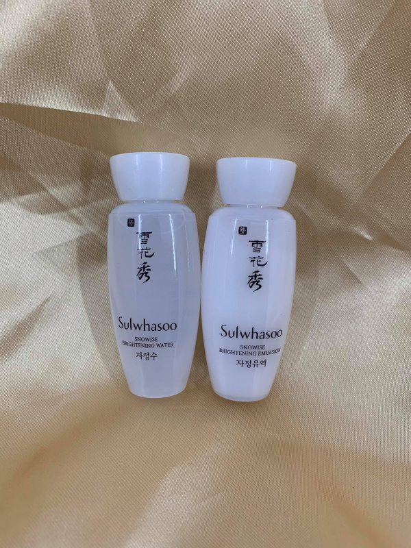 滋晶美白水乳 (30ml*2支) (Snowise Brightening Water and Emulsion)