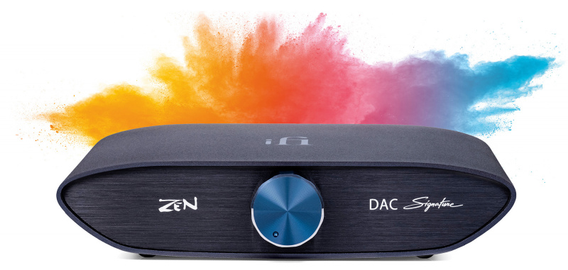iFi ZEN Signature Set HFM 限量特製版純解碼+平衡耳擴組合   連 iFi 4.4mm 訊號短線