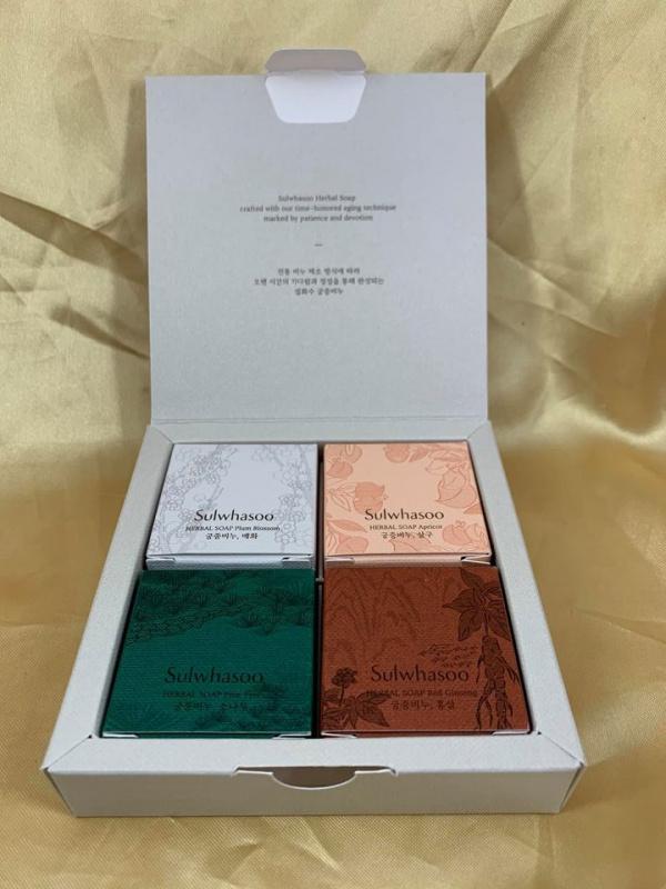 宮中蜜皂 25g*4 套裝 [送禮一流] (Herbal Soap Trial Kit)