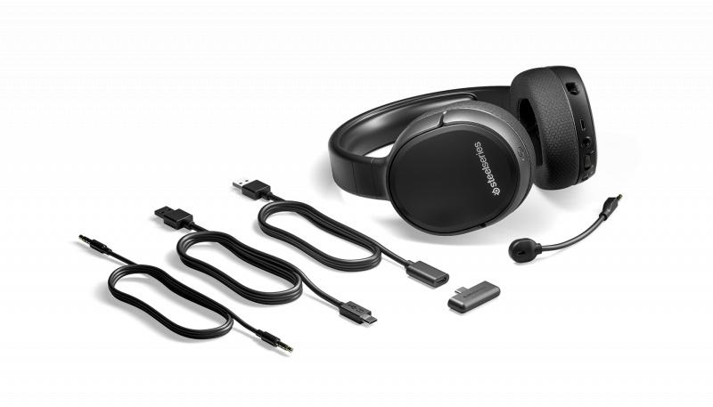 Steelseries Arctis 1 Wireless 全平台無線遊戲耳機 (Type-C 無線/有線)