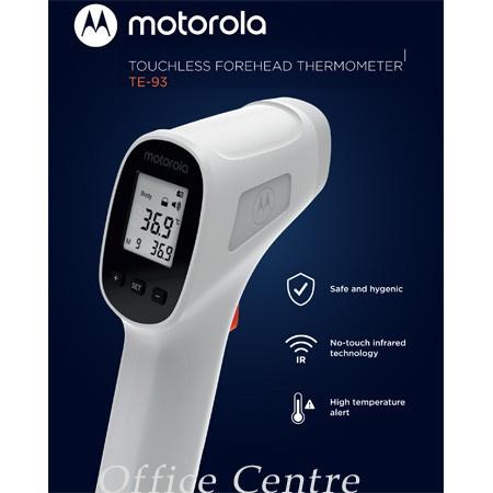 Motorola Touchless Forehead Thermometer 非接觸式額頭溫度計 TE-93