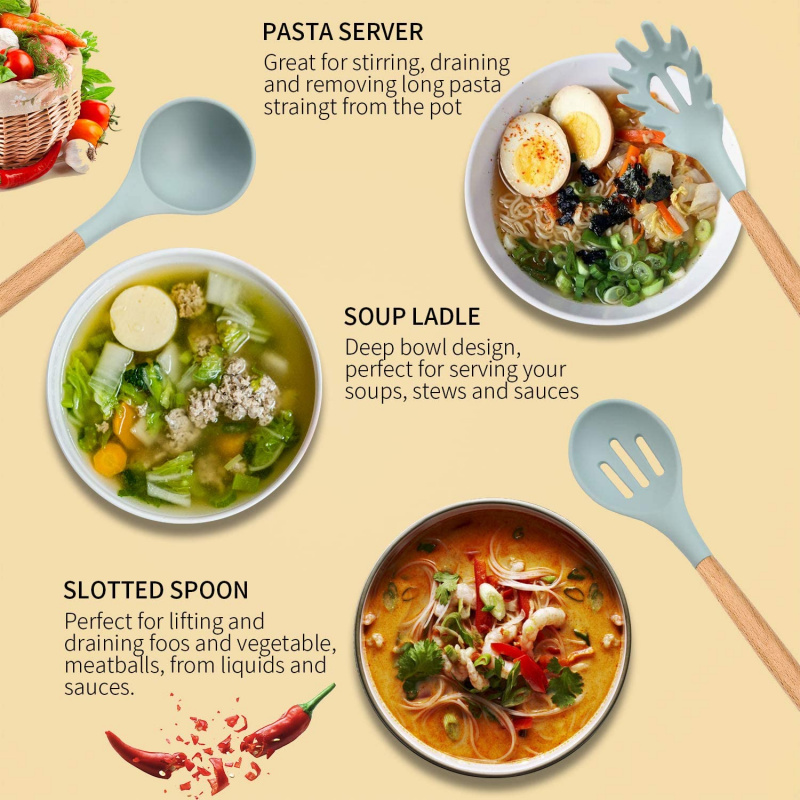 11 件最佳烹飪廚房工具|高溫食品級矽膠