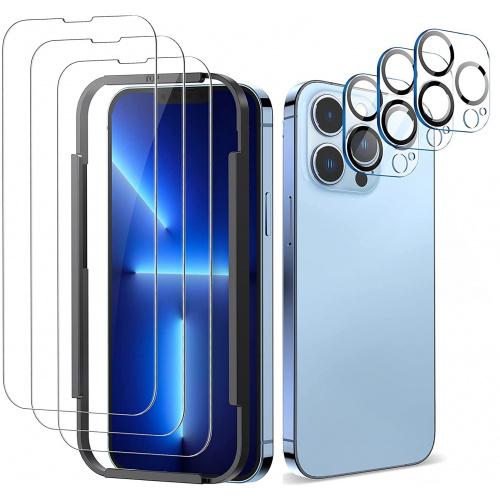 ALOK iPhone 13 系列 手機保護貼 [3片] + 鏡頭貼 [3個]