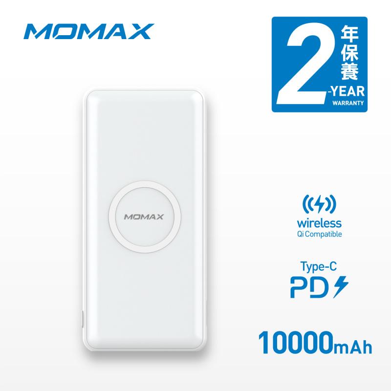 MOMAX Q.Power Minimal 10W 無線充電移動電源 10000mAh IP89