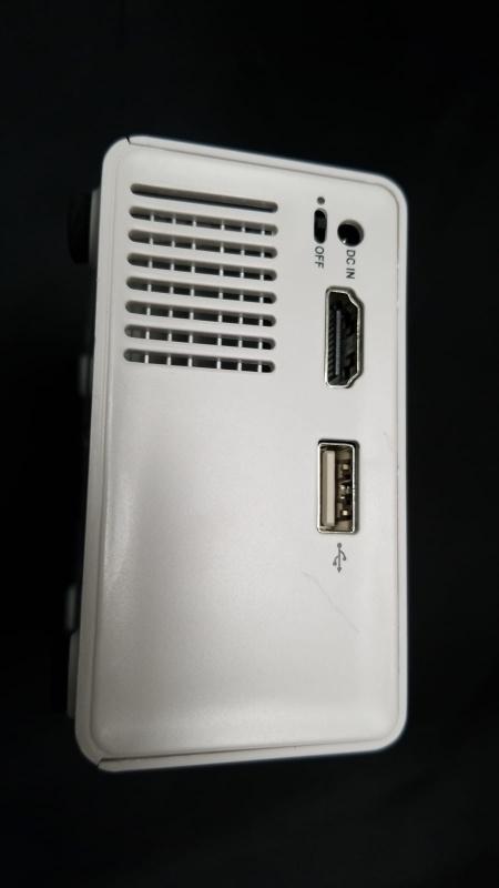 超迷你可攜帶微型投影機 YG300 [橙黃色]