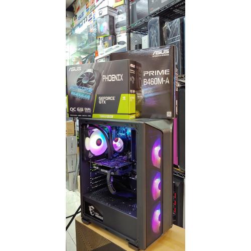 AccessPointt RTX 3070 8G+AMD RYZEN 5 5600X+(連正版WIN10) 強勁水冷電競組合 [RTX 3070 8G+500G M.2 SSD]