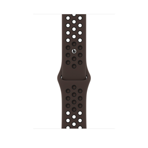 Apple Watch 44MM Nike 運動錶帶 [深鐵灰色配黑色]
