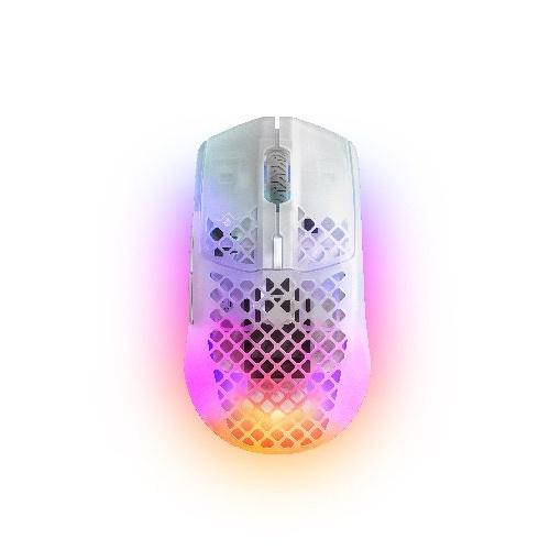 SteelSeries Aerox 3 Wireless Ghost 電競滑鼠