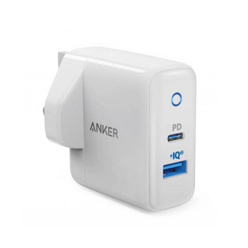 ANKER POWER PORT PD+2 35W USB CHARGER-WHITE(A2636K21)