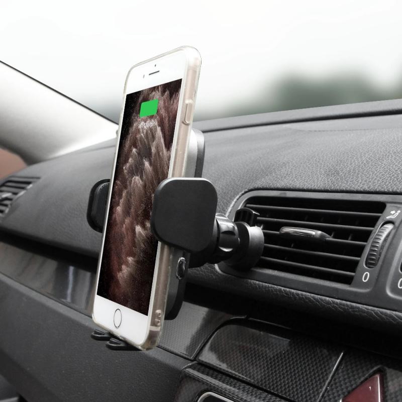 Capdase AI Power Fast Wireless Car Charging Auto Mount Telescopic Arm HR00-AIT0G
