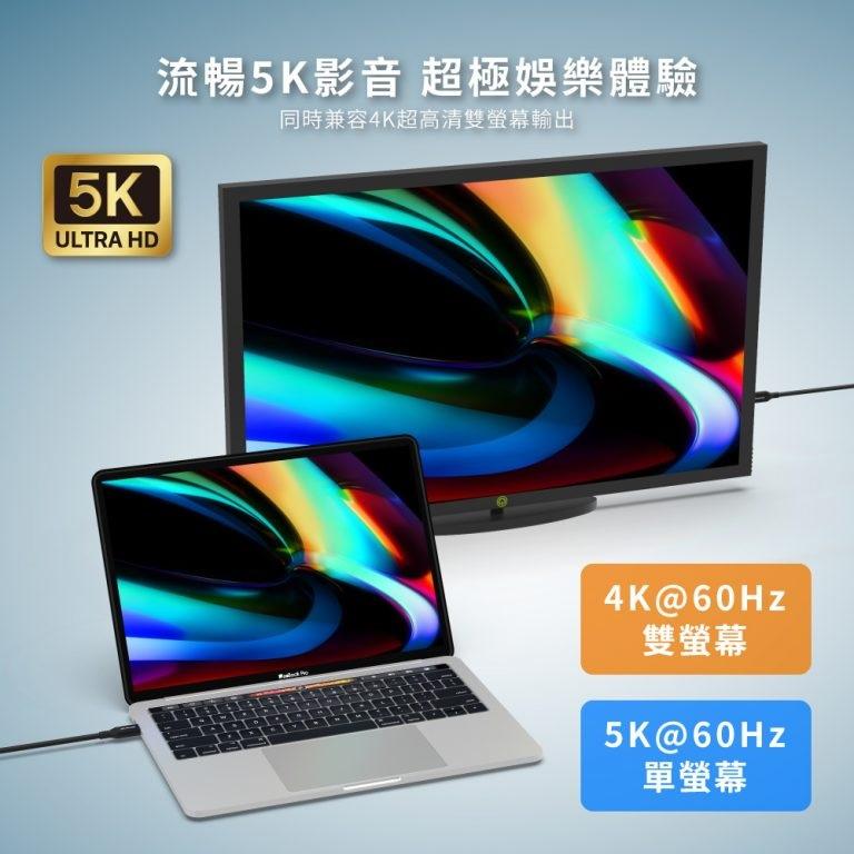 Elementz USB 4.0 (40Gbps) Cable 1m UTB-4