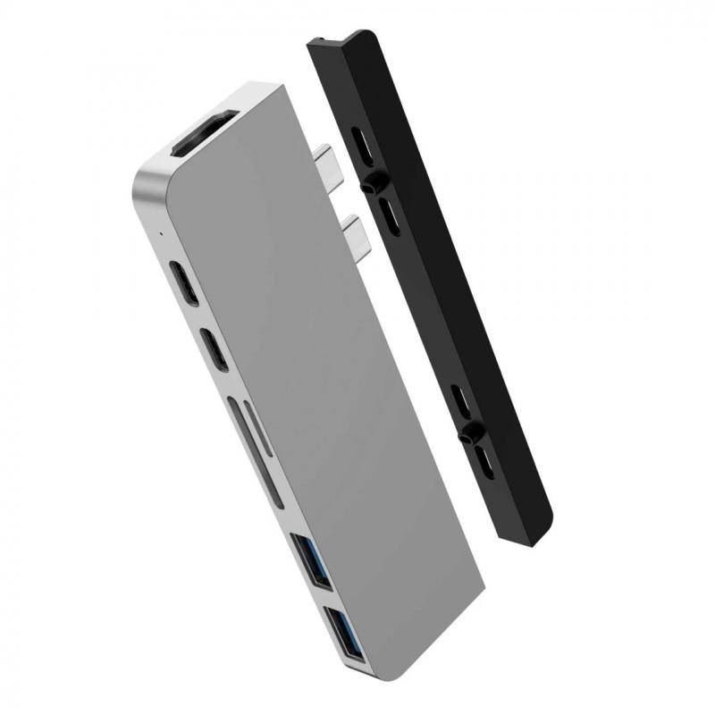 HyperDrive DUO 7-in-2 USB Type-C Hub for MacBook