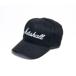 MARSHALL - 棒球帽 BLACK/WHITE