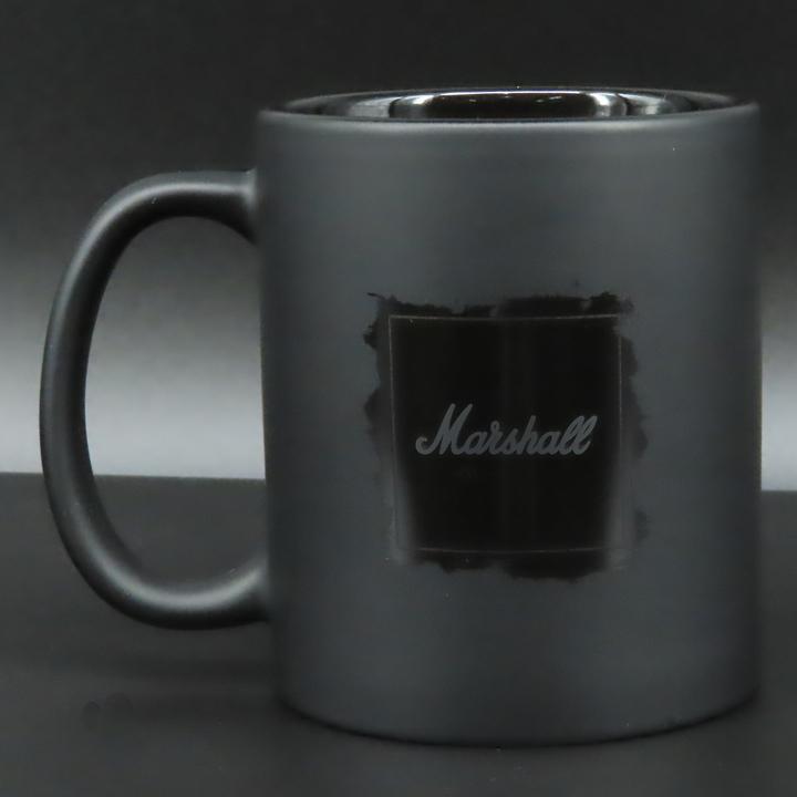 MARSHALL 咖啡杯-110Z BLACK CERAMIC(MCM-62703)