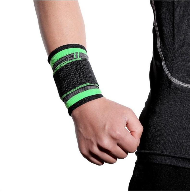 腕帶可調節壓縮腕帶,男女健身腕帶,舉重訓練,網球,籃球腕帶