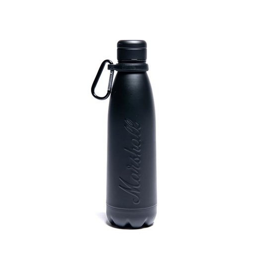 MARSHALL - WATER BOTTLE MATTE BLACK 品牌水樽
