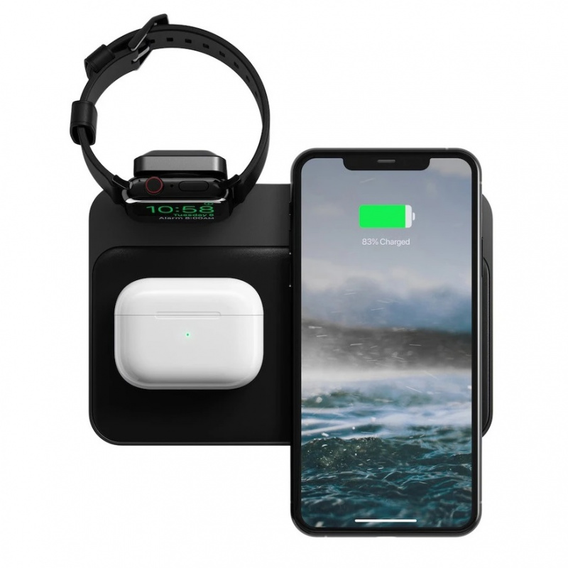 NOMAD BASE STATION -APPLE WATCH V2 WIRELESS CHARGING DOCK (NM3A045A00)