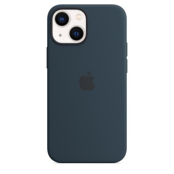 Apple iPhone 13 mini MagSafe 矽膠護殼 [深邃藍色]