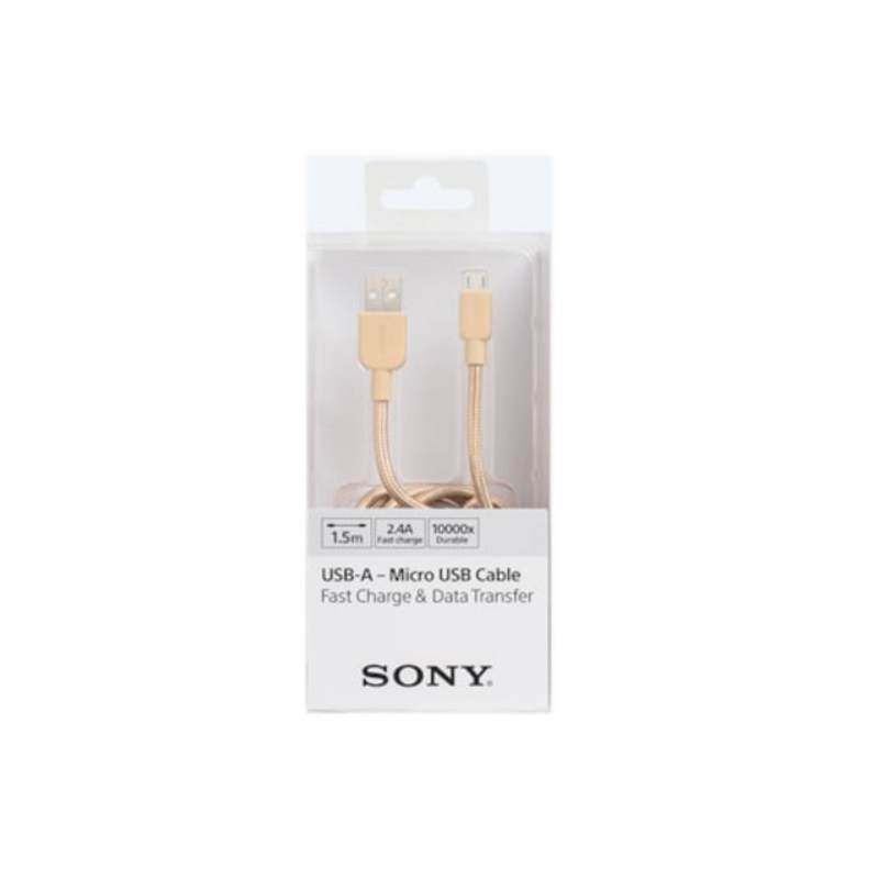 SONY USB A MICRO USB CABLE 1.5M