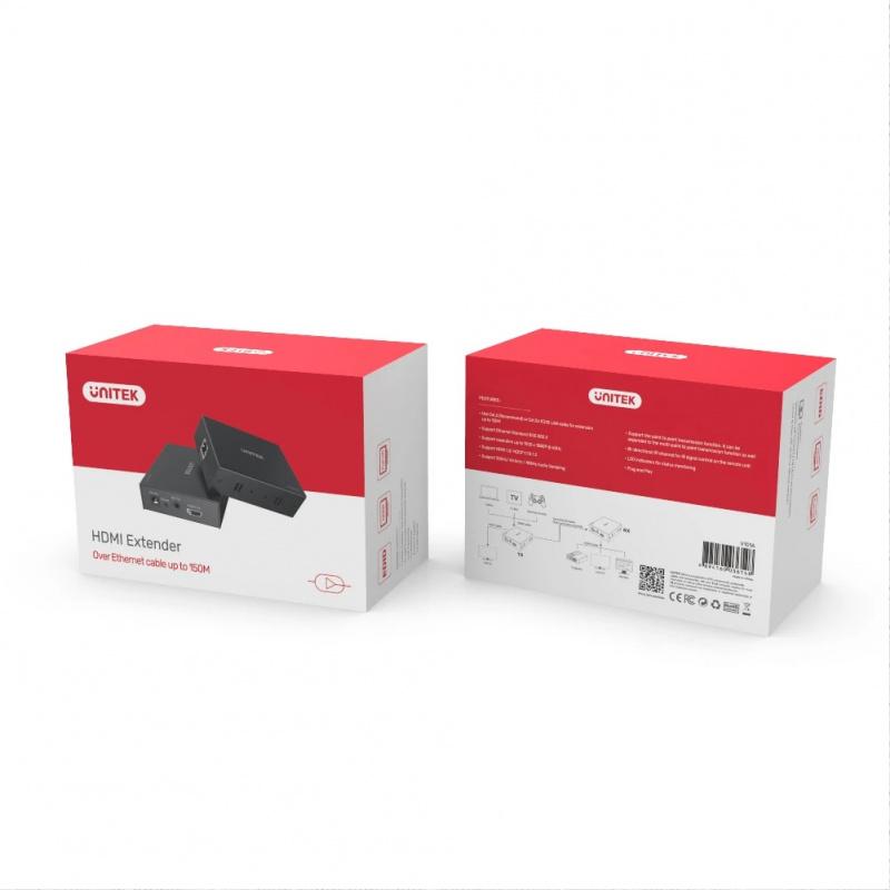 Unitek 60M HDMI Extender Over Ethernet (V100A)