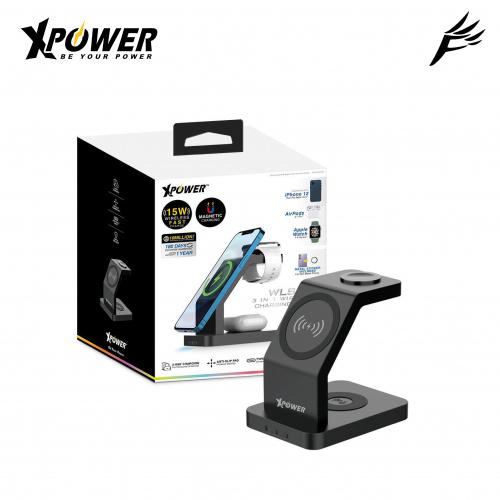 XPower WLS7 多功能磁吸無線充電器