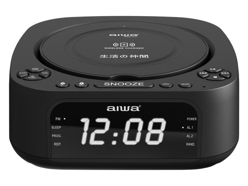 AIWA 鬧鐘藍牙CD播放機 AW-8818BB