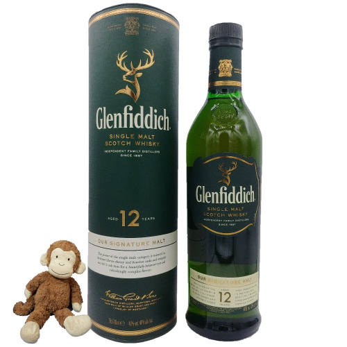 Glenfiddich 12 Years Old Single Malt Whisky