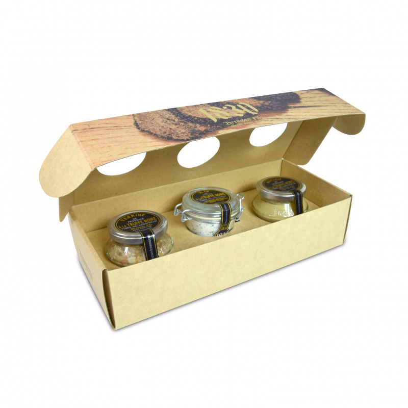 Maison Bremond 1830 - 3 Pots Black Truffle Coffret 黑松露3罐套裝 - 0102935