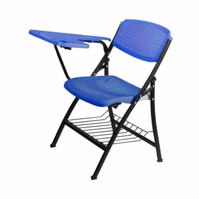 Suchprice® TC01 摺椅 寫字板 培訓椅 (灰/藍/黑)