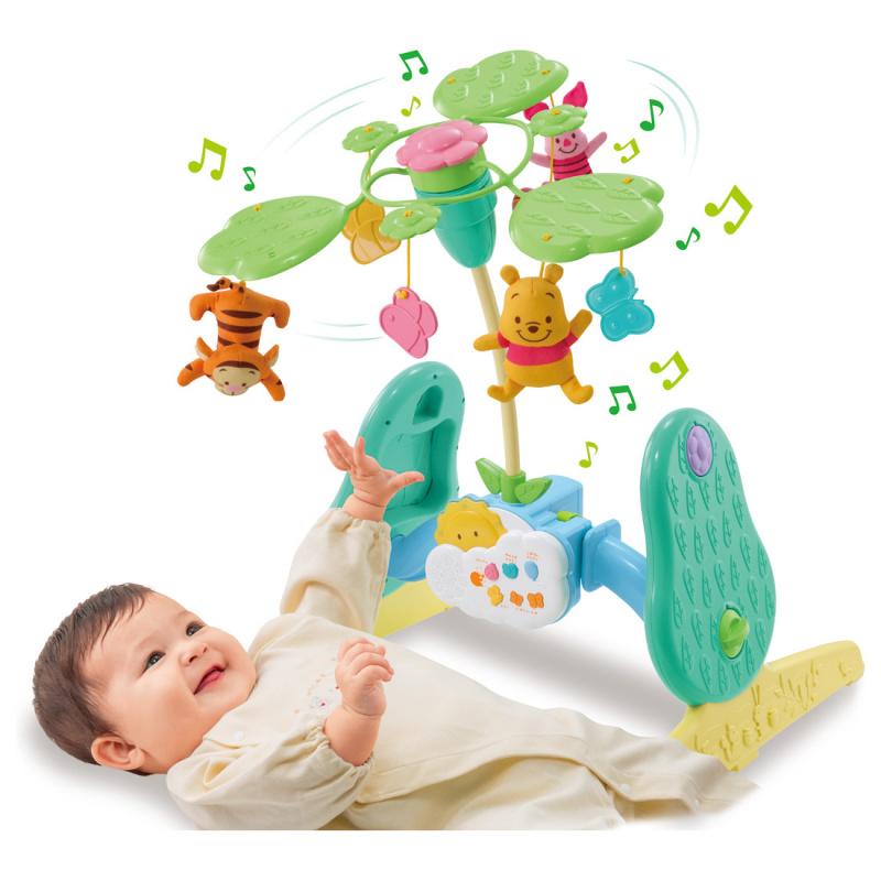 日本Disney baby 小熊維尼公仔玩具套裝