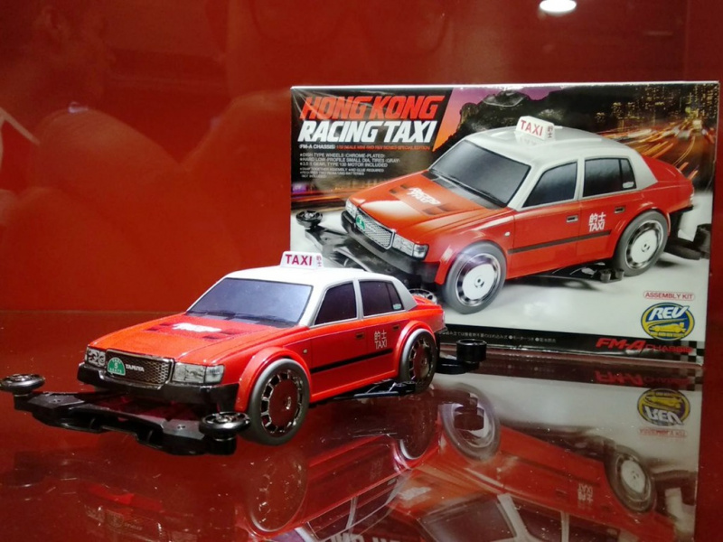 TAMIYA田宮四驅車香港限量版的士四驅車 Racing Taxi