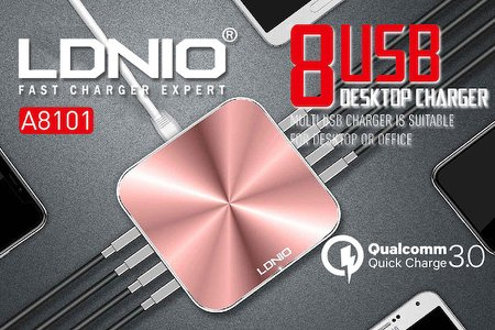 LDNIO 8U QC3.0 A8101