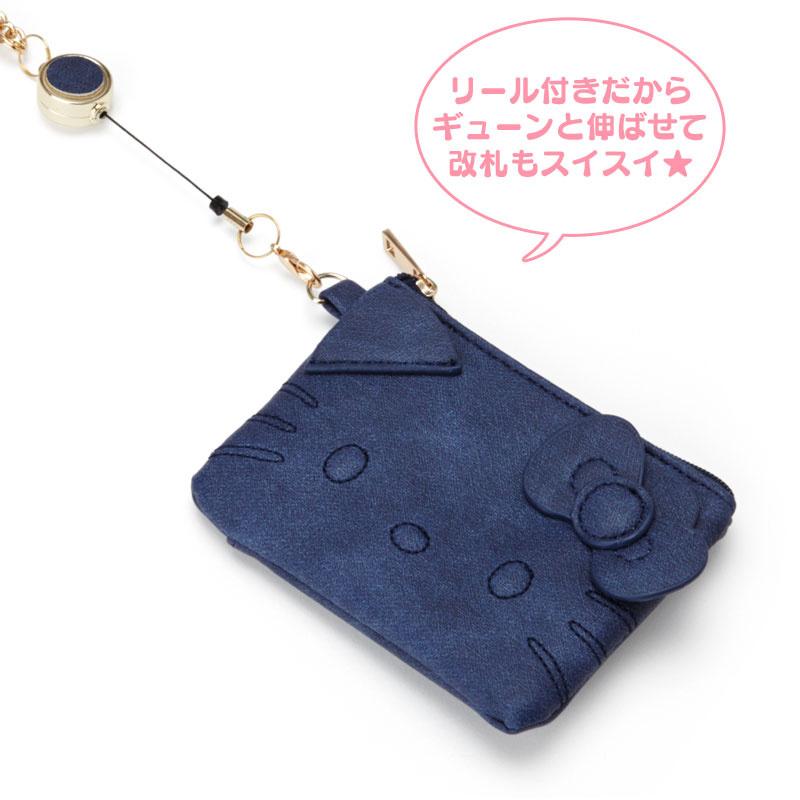 日本SANRIO Hello Kitty 和風輕便銀包