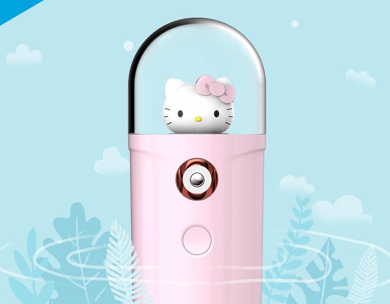 Hello Kitty 智能充電納米噴霧補水器