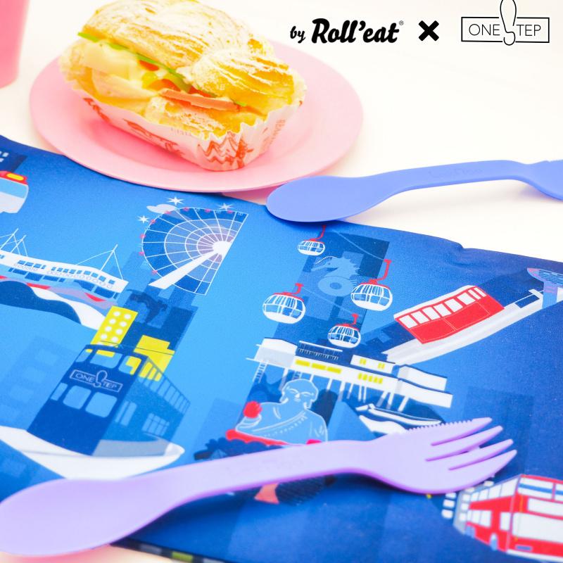 Snack'n'Go XL香港黑夜版 - 環保食物袋