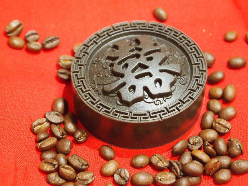 Coffee NEXT囍上加喜咖啡渣手工皂 (90克)