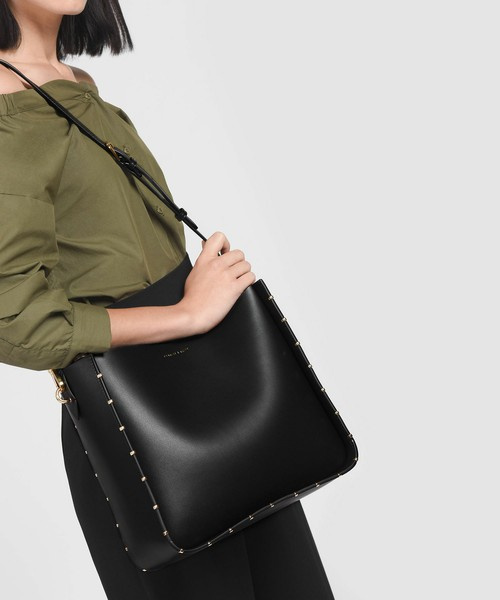 Charles & Keith scarf wrapped handle bag 女士手袋 [3色]