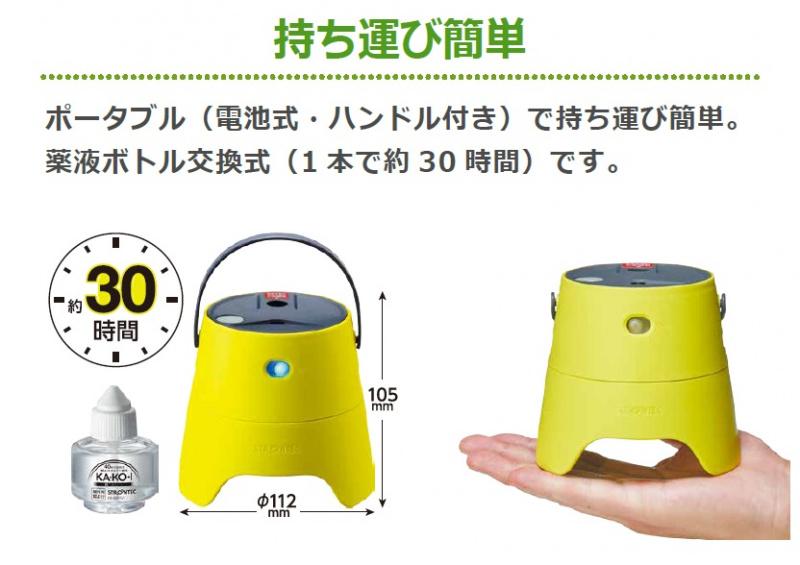 日本STRONTEC電動驅蚊噴霧