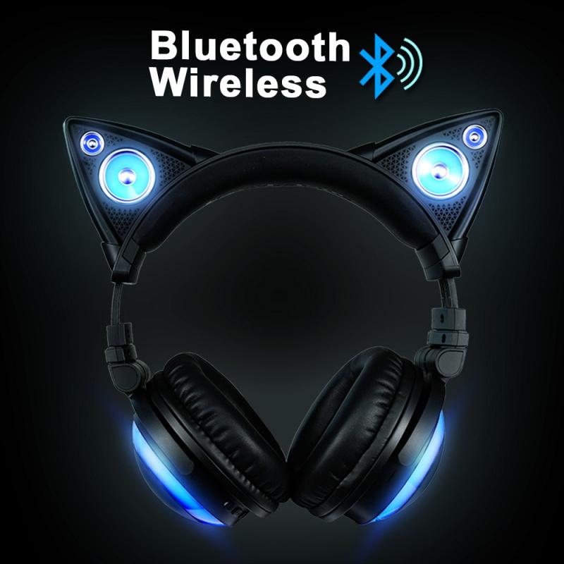 Axent Wear x Brookstone 第二代貓耳無線藍牙頭戴式耳機
