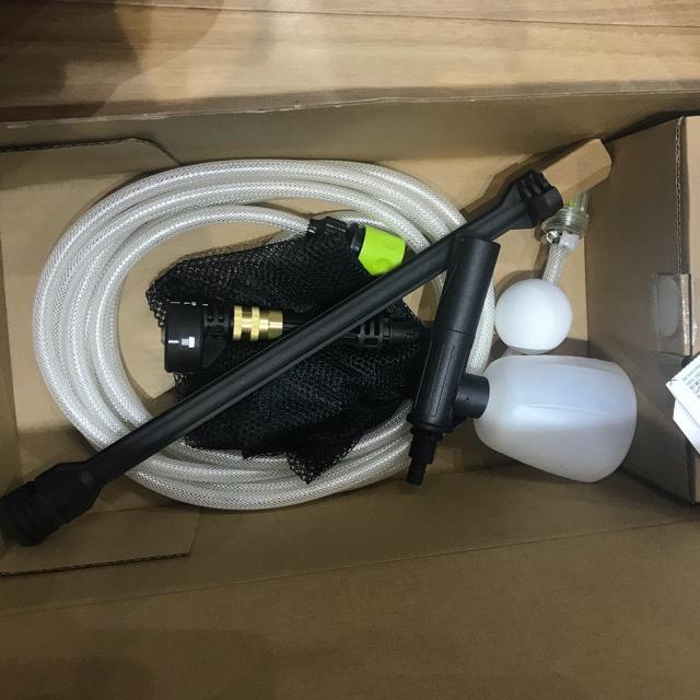 香港行貨 威克士WORX WU629.2 鋰電高壓清洗槍 【特快充電6A充電器】20V 4.0A